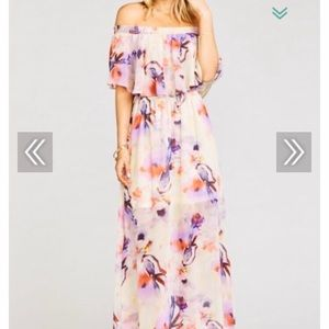 Pretty floral print dress from Show Me Your Mumu!